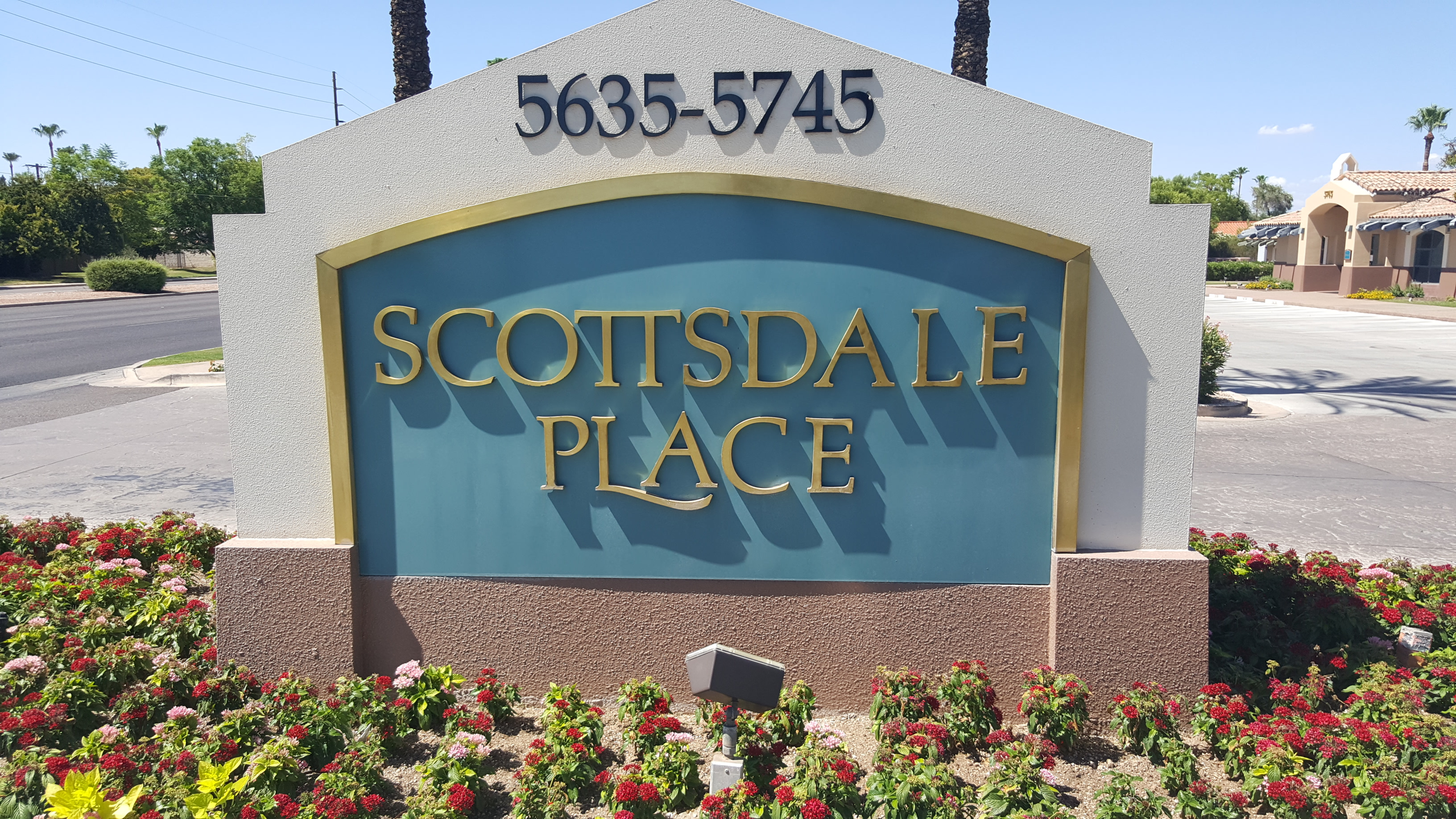 Find our Arizona DUI Law Firm office located in the Scottsdale Place.