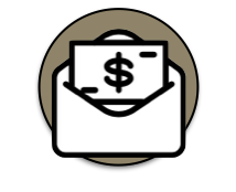affordable fees and payment options icon