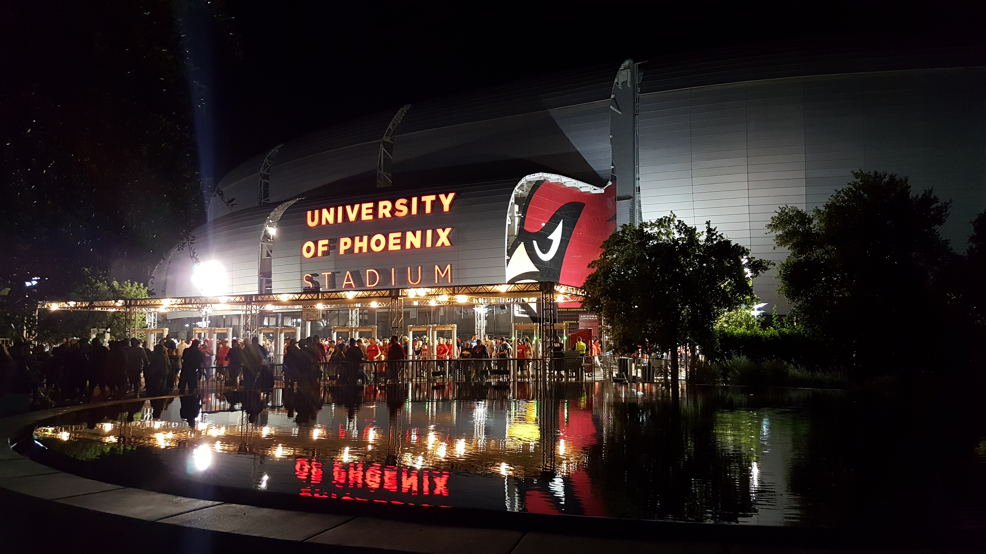 NFL Arizona Cardinal's football stadium in Glendale, AZ
