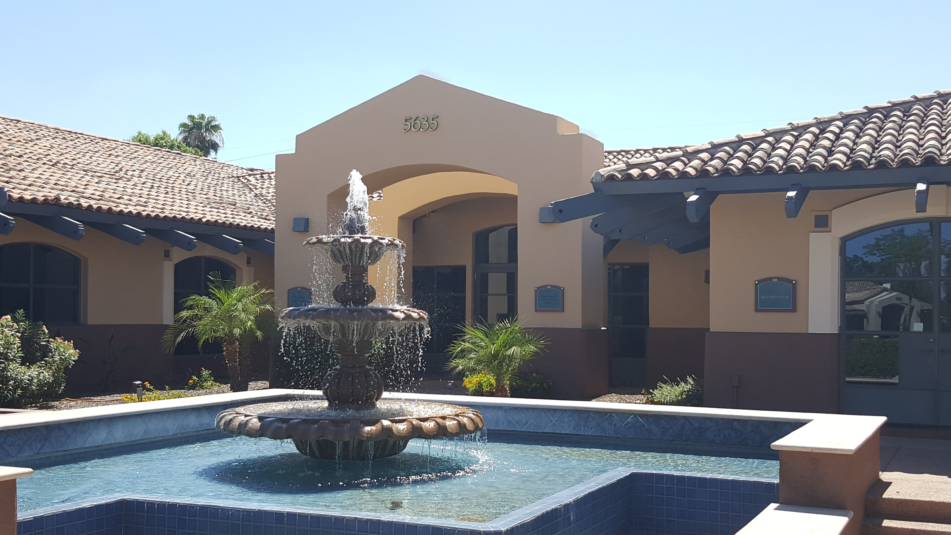 My AZ Lawyers Criminal defense and DUI law office - view of the front of the building