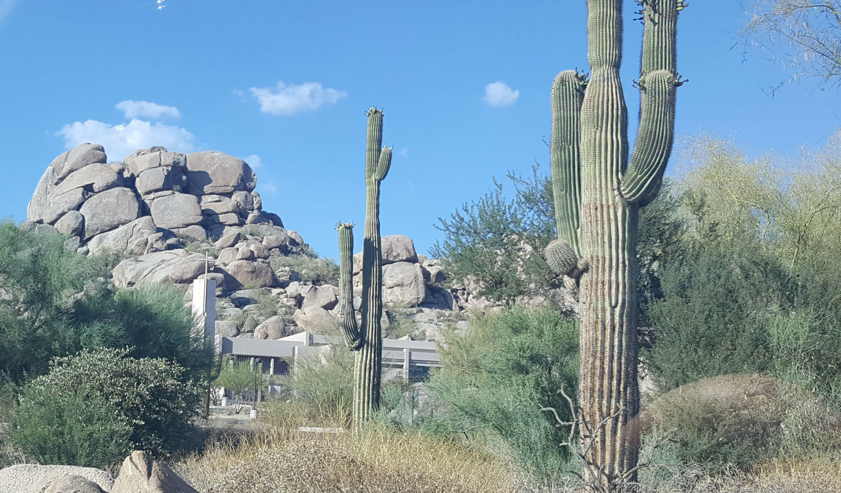 Scenic view of Scottsdale, AZ
